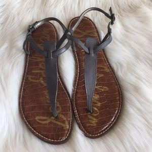 Sam Edelman Gigi sandals in gray size 9